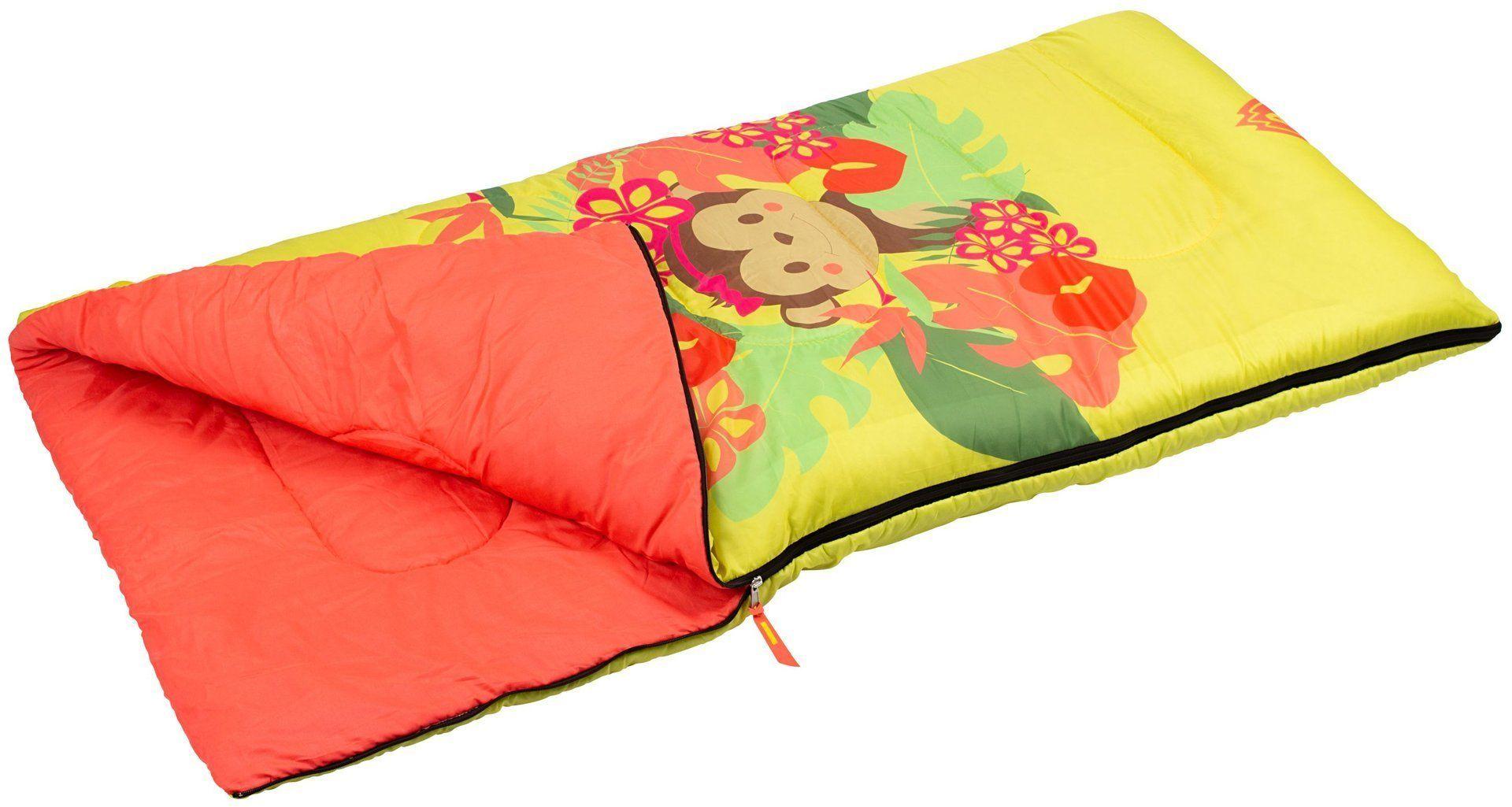 Śpiwór turystyczny dla dzieci Jungle Abbey