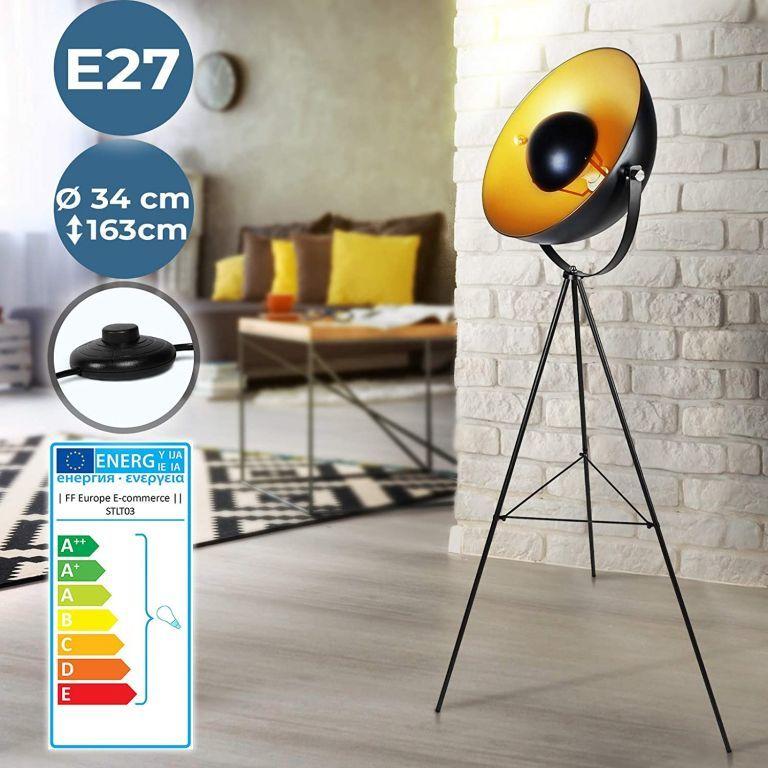 Lampa podłogowa ze statywem