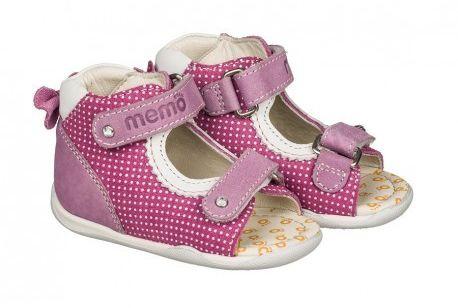 MEMO Baby Start Mini 1JE sandałki kapcie profilaktyczne