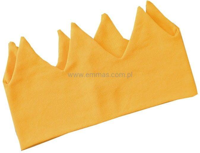Opaska KORONA żółta