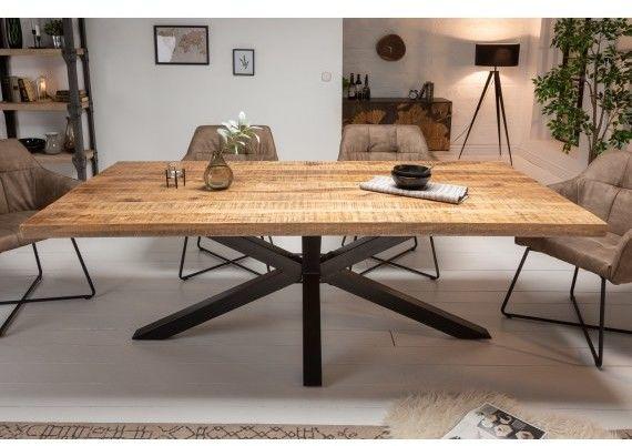 Stół drewniany Karexie 200 cm Mango