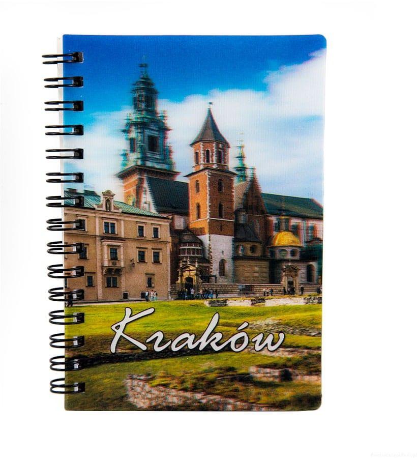 Notatnik 3d Kraków Wawel