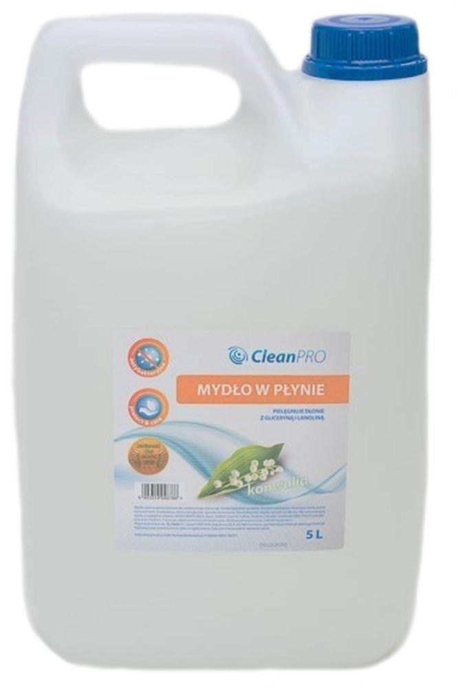 Antybakteryjne mydło w płynie CleanPRO STANDARD konwaliowe 5 litrów