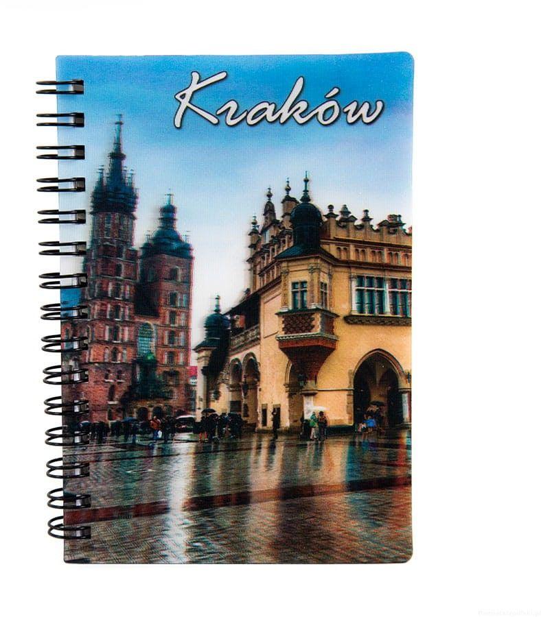 Notatnik 3d Kraków Sukiennice