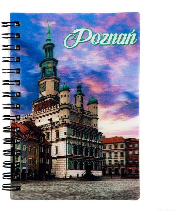 Notatnik 3d Poznań Ratusz