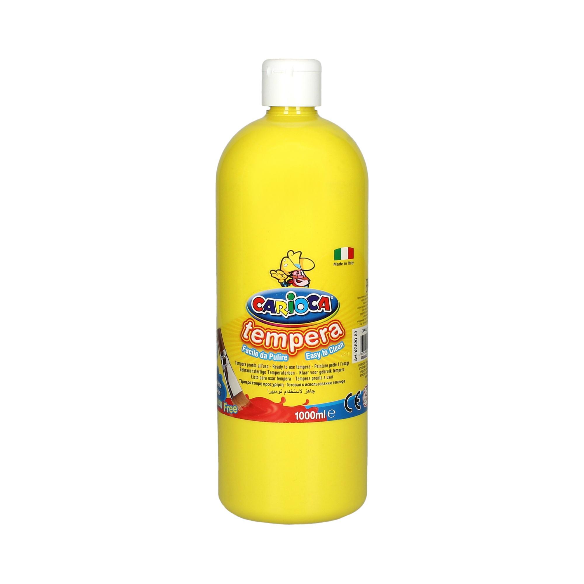 Farba tempera żółta 1l Carioca
