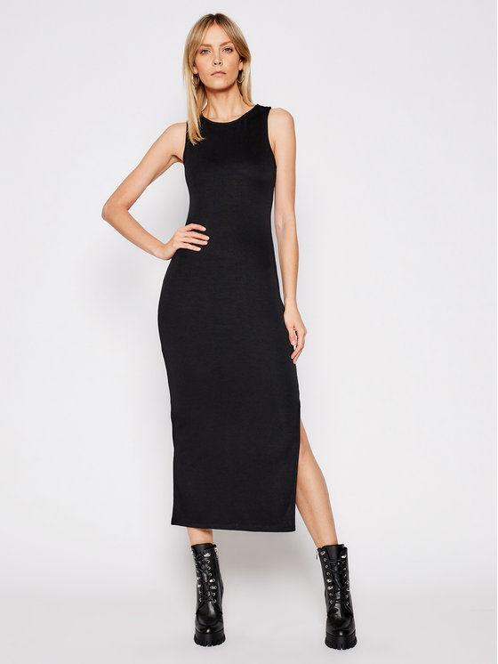 Armani Exchange Sukienka codzienna 8NYA93 YJB3Z 1200 Czarny Regular Fit