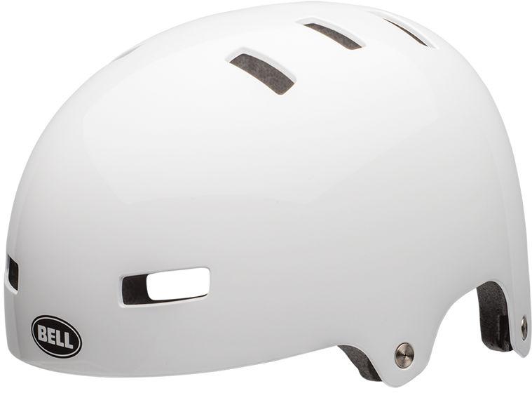 BELL LOCAL Kask rowerowy bmx gloss white Rozmiar: 51-55,localwhite