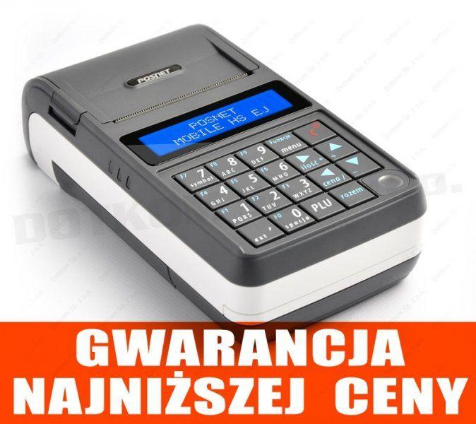 Kasa fiskalna Posnet Mobile HS EJ + fiskalizacja GRATIS #### Zaproponuj swoją cenę ####