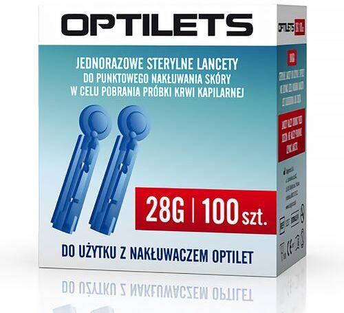 Lancety jednorazowe do glukometru nakłuwacza Optilets Diagnosis