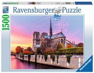 Ravensburger - Puzzle Malownicze Notre Dame 1500 el. 163458