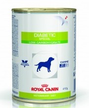 Royal Canin Diabetic special - low carbohydrate puszka 410 g Dog
