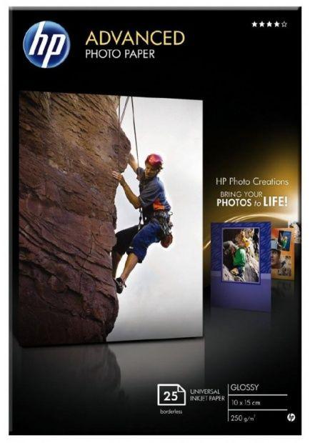 Papier Fotograficzny HP Advanced Photo Q8691A 10 x 15 (Q8691A)