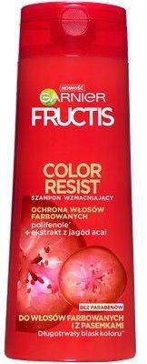 Garnier Fructis Szampon wzmacniający do włosów farbowanych i z pasemkami Color Resist 400ml