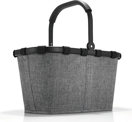 Koszyk carrybag twist silver