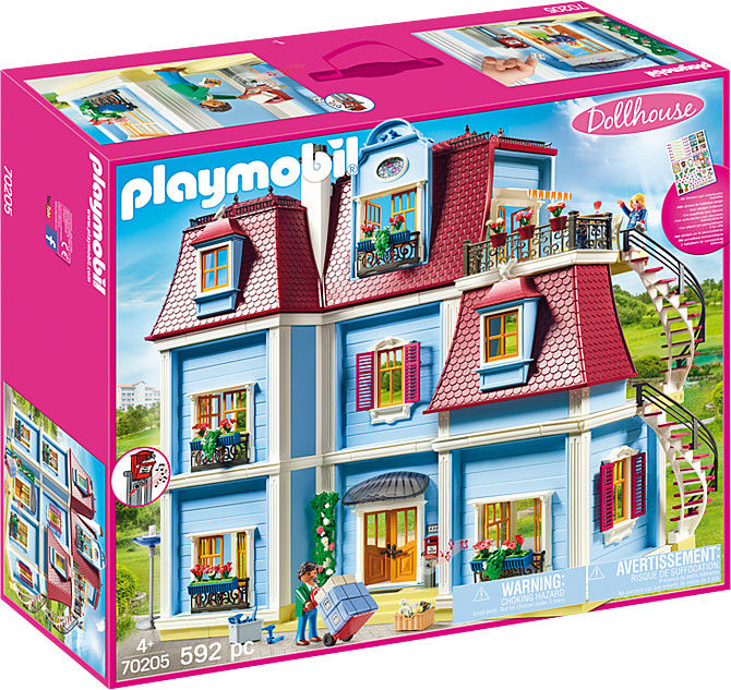 Playmobil - Duży domek dla lalek 70205