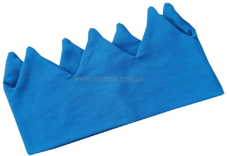 Opaska KORONA niebieska
