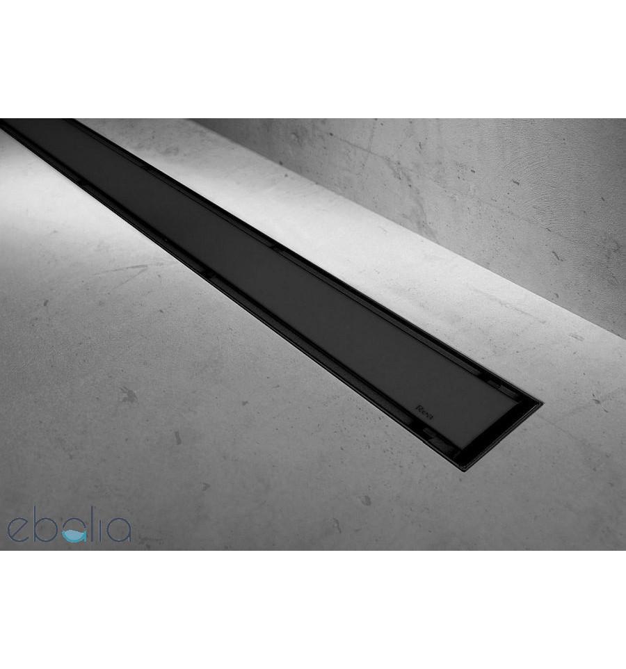 Odpływ liniowy 90 Neo & Pure Black Pro Rea (REA-G8908)