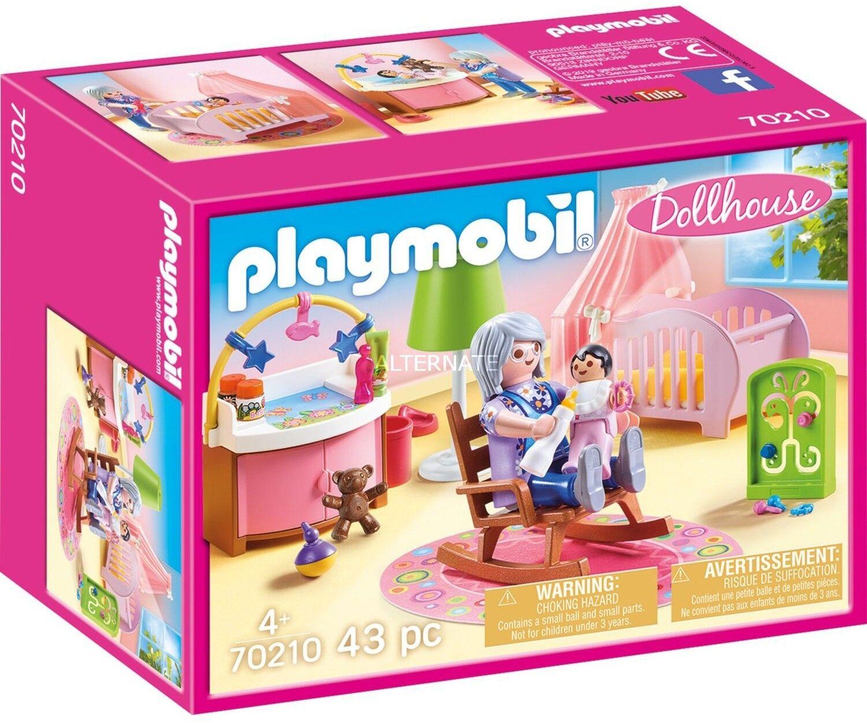 Playmobil - Pokoik dziecięcy 70210