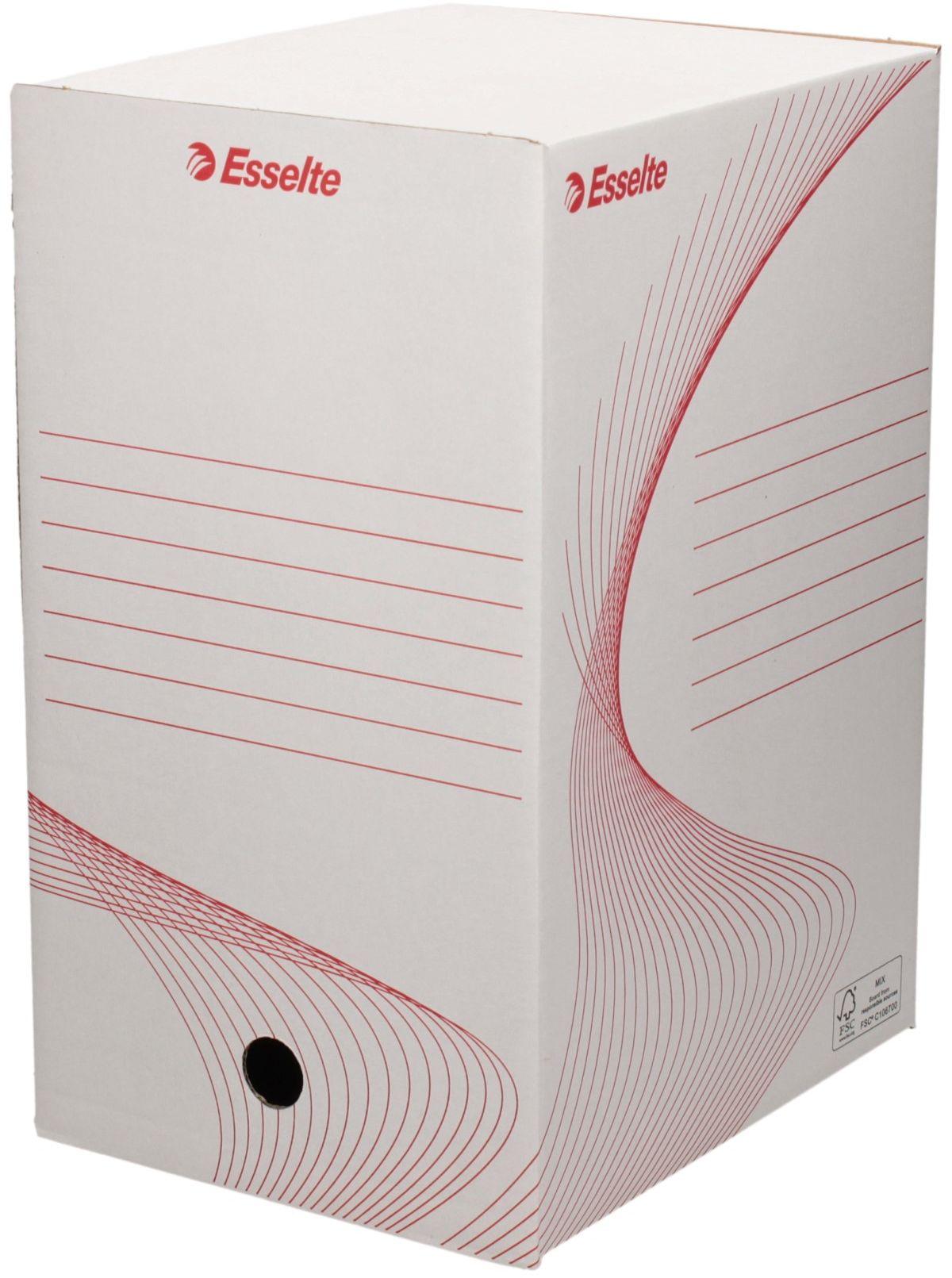 Pudło archiwizacyjne 350x250x200 białe Boxy 128701