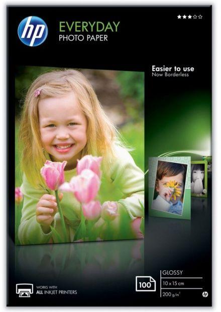 Papier HP Everyday Glossy Photo 10x15 (100 arkuszy) (CR757A)