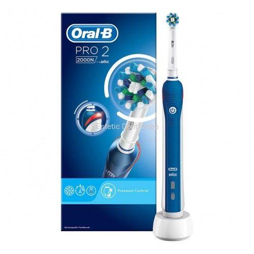 Oral-B PRO 2 2000N CrossAction Szczoteczka elektryczna do zębów