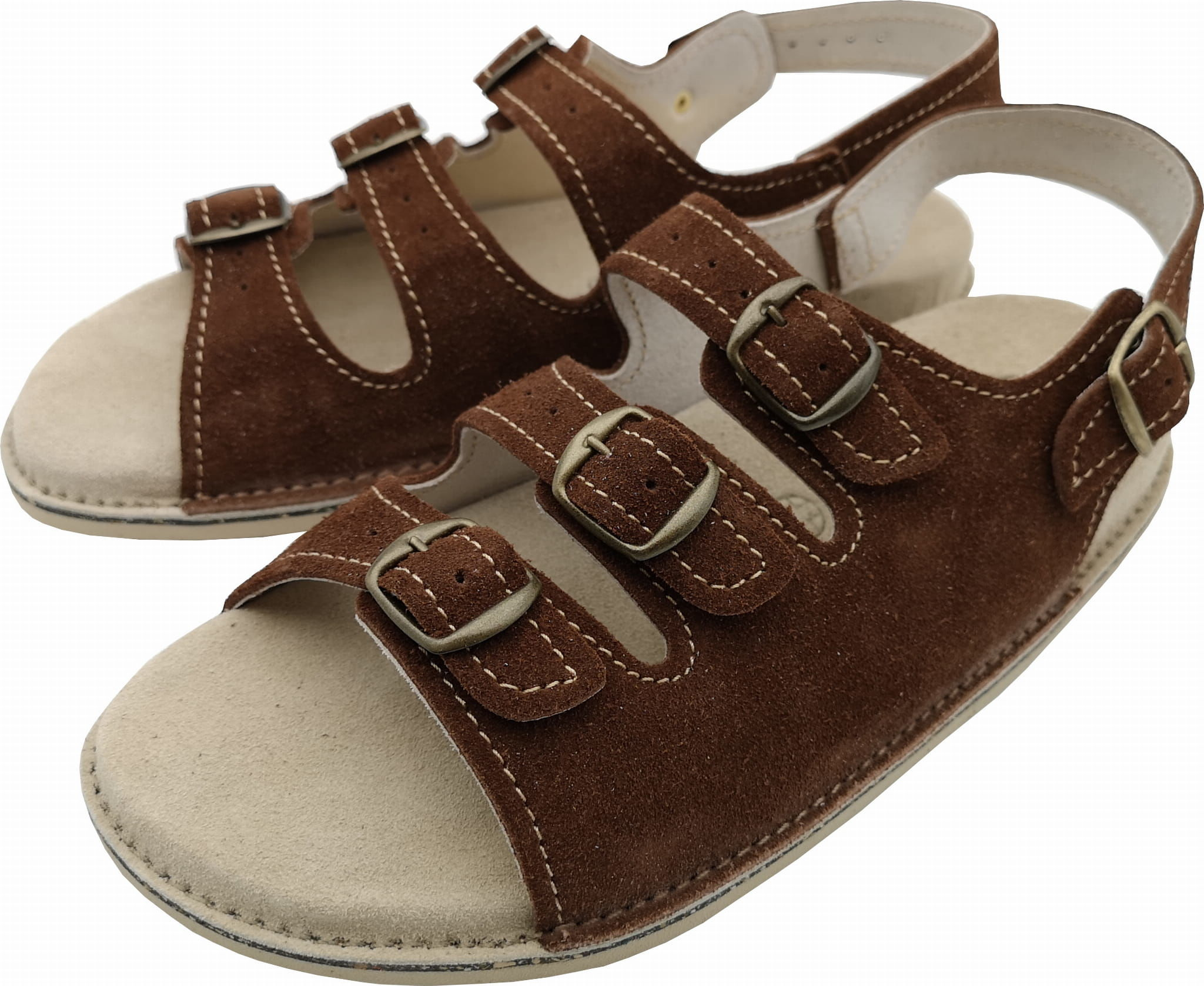 A2 Fusbet sandały skórzane