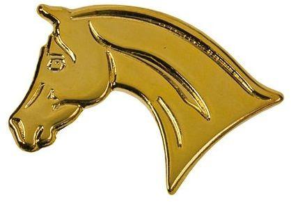 Znaczek ozdobny 94 - złota głowa araba - HappyRoss