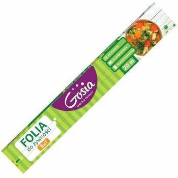 Gosia Folia do żywności 3w1 z nożykiem 20m