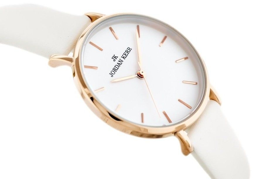 Zegarek Jordan Kerr L1025 Delicious biało-złoty