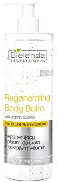 Bielenda Professional - Regenerujący balsam do ciała i biustu z witaminami 490ml