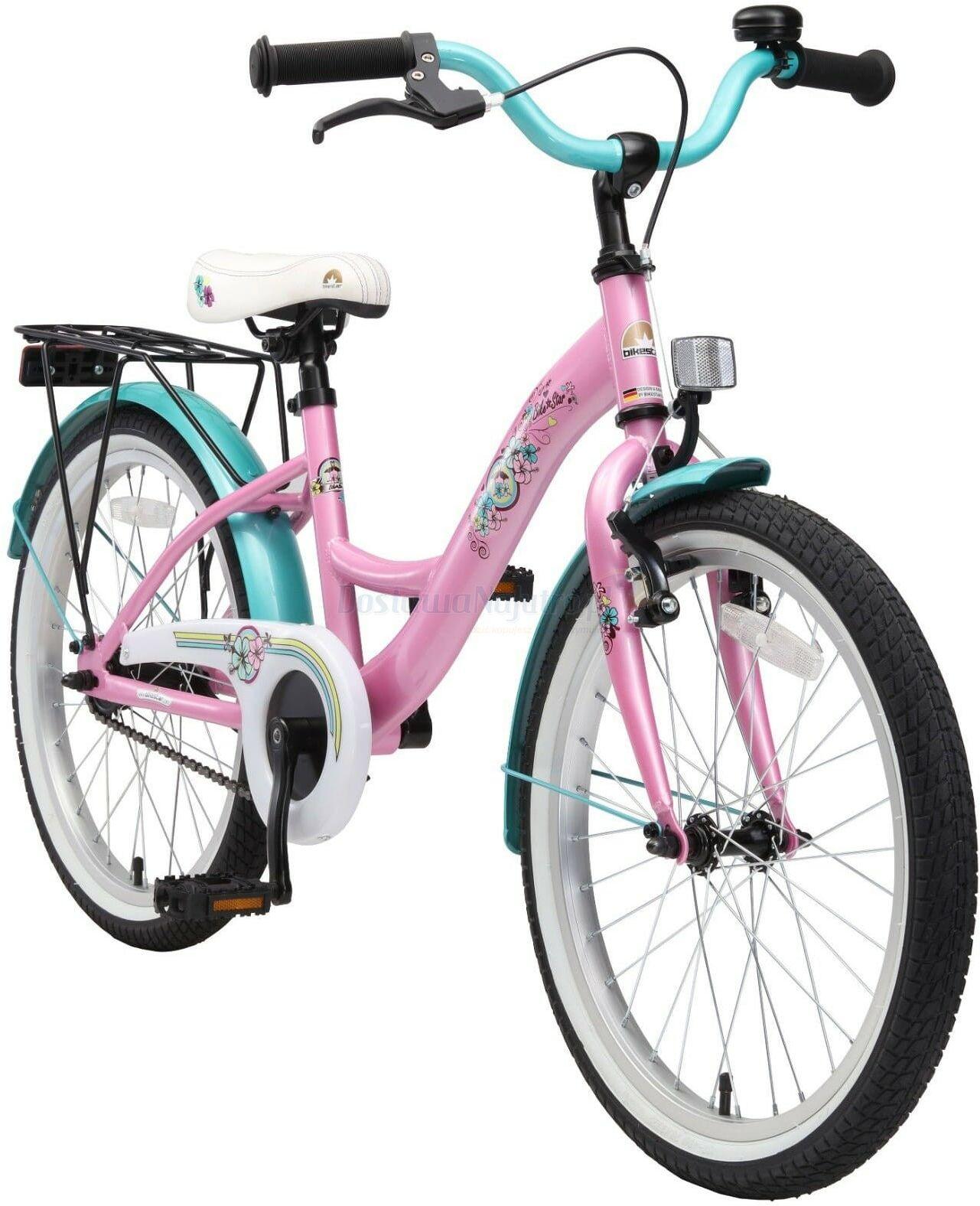 """Rower dla dzieci 20"""" BIKE STAR GERMANY klasyczny różowy"""