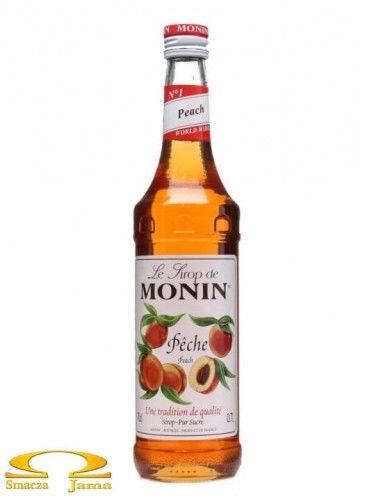 Syrop BRZOSKWINIA Peach Monin 700ml
