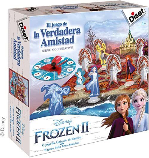 Diset Ref. 49243 Frozen II Królowa lodu 2-gra prawdziwej przyjaźni, kolorowa