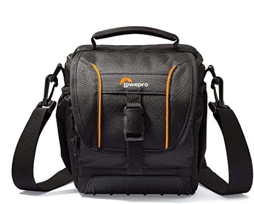 Lowepro LP36863-0WW, SH 140 II torba na przygodę z kamerą z regulowanym systemem podziału, pasuje do kompaktowego DSLR z dołączonym zestawem soczewkami, kartą pamięci, małymi akcesoriami