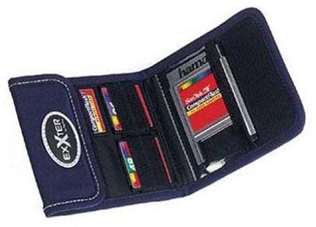 Exxter torba na 4 karty pamięci CF niebieska