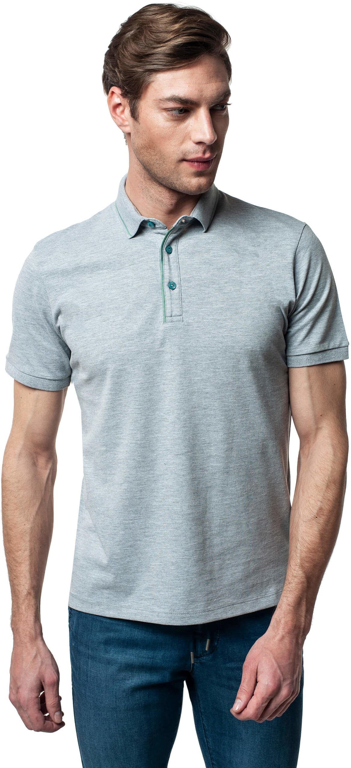 koszulka polo parilly szary