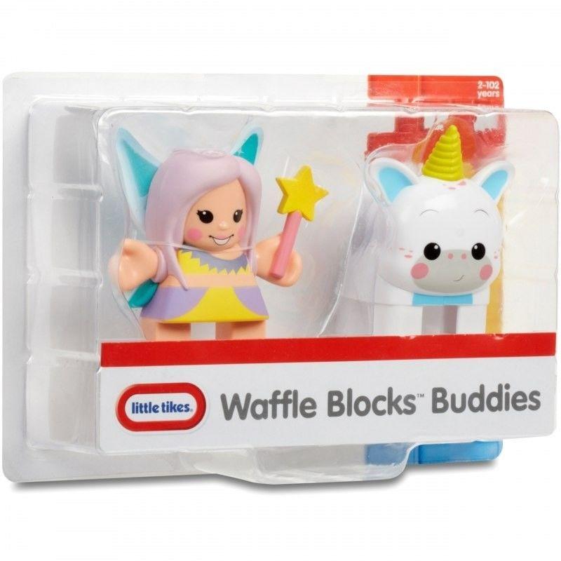 Little Tikes Figurki Wróżka i Jednorożec Waffle Blocks