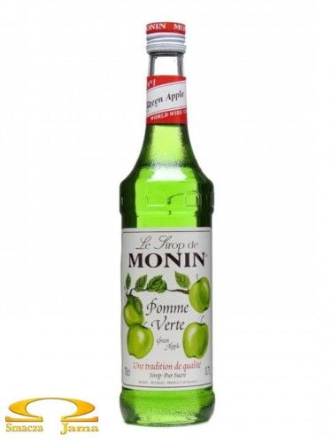 Syrop ZIELONE JABŁKO Green Apple Monin 700ml