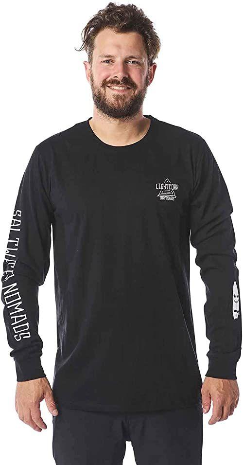 Light Ghost T-shirty, koszulki męskie i polo, czarne, L