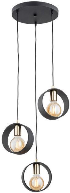 Lampa wisząca Amadora 1449 Argon nowoczesna oprawa w kolorze czarnym