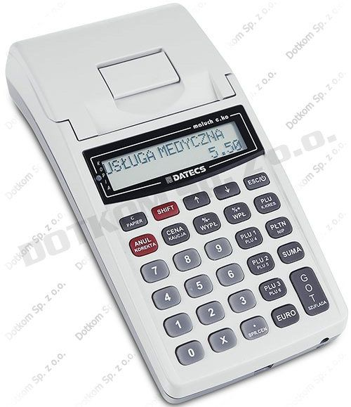 Kasa fiskalna Datecs Maluch E.KO + serwis gratis