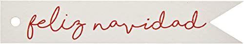 Mopec NX481.14.1 kartka z życzeniami na Boże Narodzenie, czerwona, 11 x 2 cm, 20 sztuk, papier, wielokolorowa