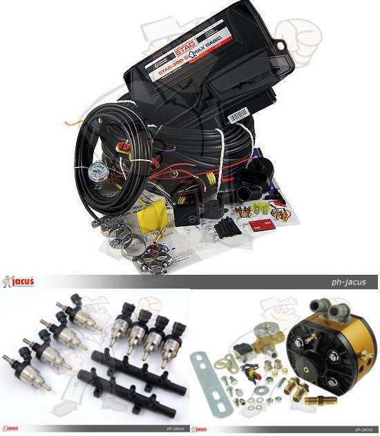 AC STAG 300 8 Qmax Basic Gold GT Hana H2001 montaż pojedynczy Sekwencja 340KM