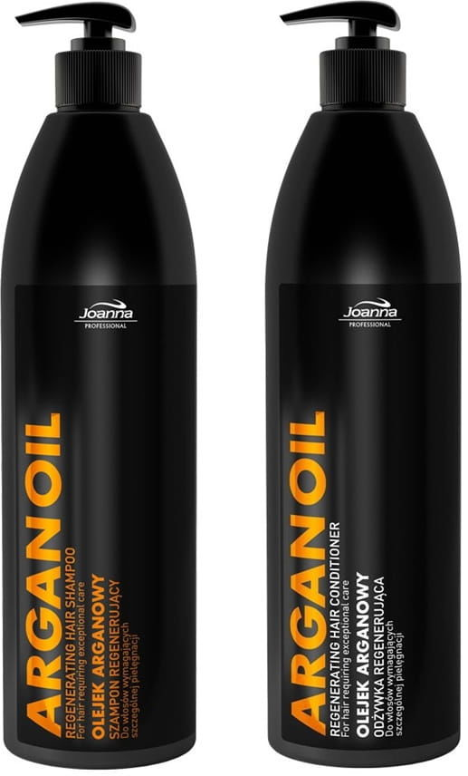 Joanna Pro ARGAN OIL szampon + odżywka 2x1000ml