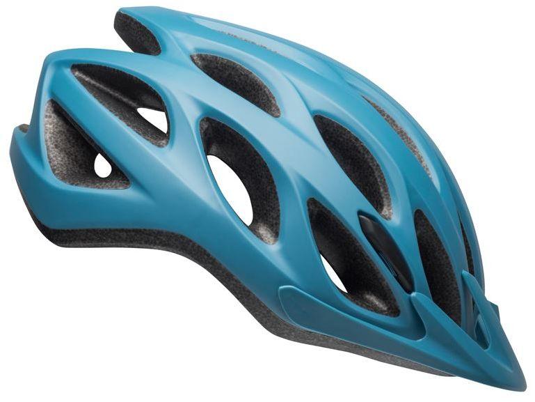 Kask rowerowy mtb BELL TRACKER matte gray blue Rozmiar: 54-61,trackergrayblue