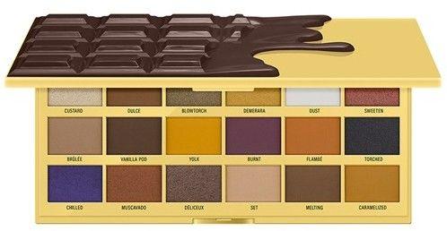 Makeup Revolution Paleta cieni Creme Brulee
