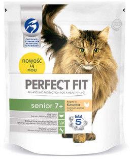 PERFECT FIT (Senior 7+) 750g Bogaty w kurczaka - sucha karma dla kota starszego