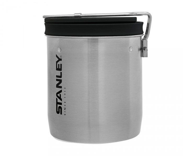 Zestaw Stanley Adventure garnek, miska ze sztućcem 700 ml (stalowy)