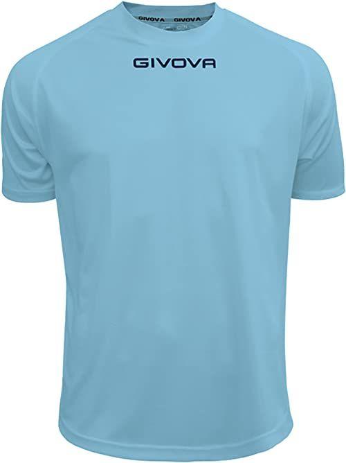 Givova - MAC01 koszulka sportowa, niebiańska, 3XS